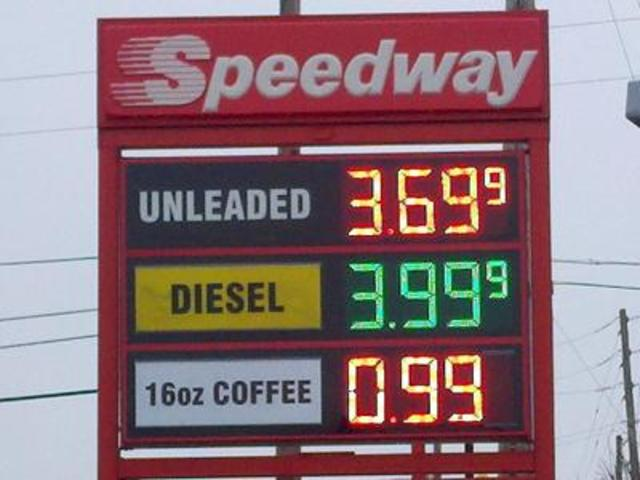 Gas Price Surge Isolated Across Indianapolis