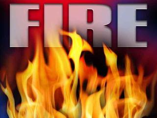 Reports of a fire in Central Bakersfield