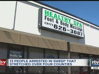 article arrested central indiana massage parlor investigation