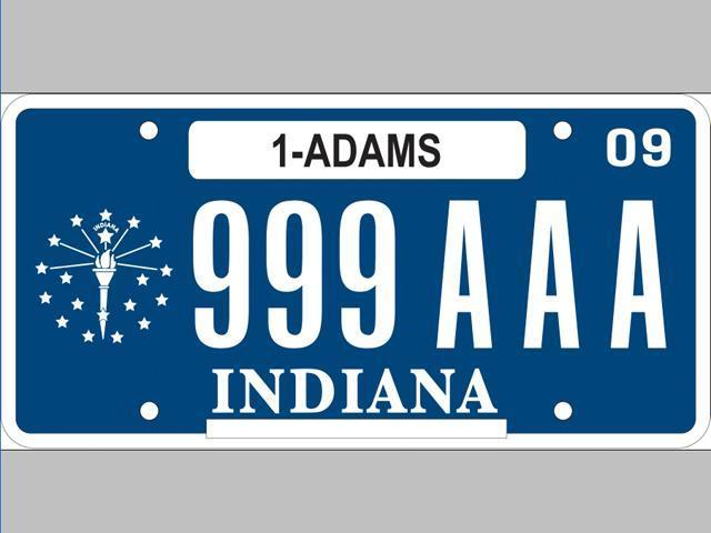 Indiana to go blue with license plate for Bureau of motor vehicles michigan road license branch indianapolis in