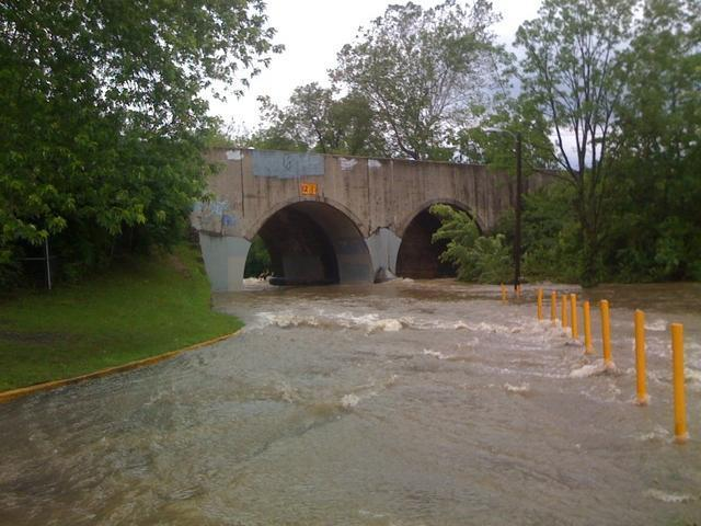 Flood Pics 2 V1 Weather Gallery On Longacre Mobile Home Park Indianapolis In