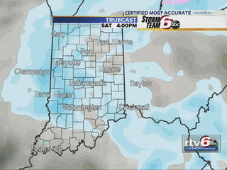 RTV6 - Accumulating snow expected in central Indiana on Saturday