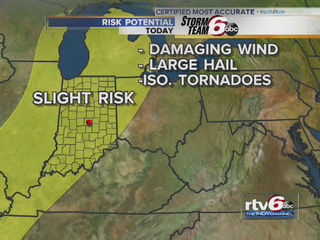 Severe storms threaten Indiana again