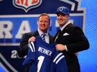 Former Colts 1st-rounder Werner cut by Jaguars