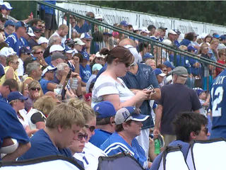 Colts camp moving to Indy for closed practices