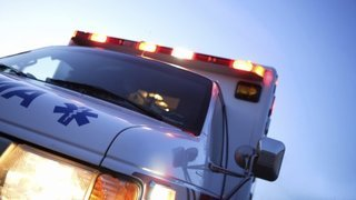Ambulance strikes pedestrian at Greeley hospital