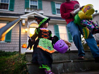 Trick-or-Treat times across central Indiana