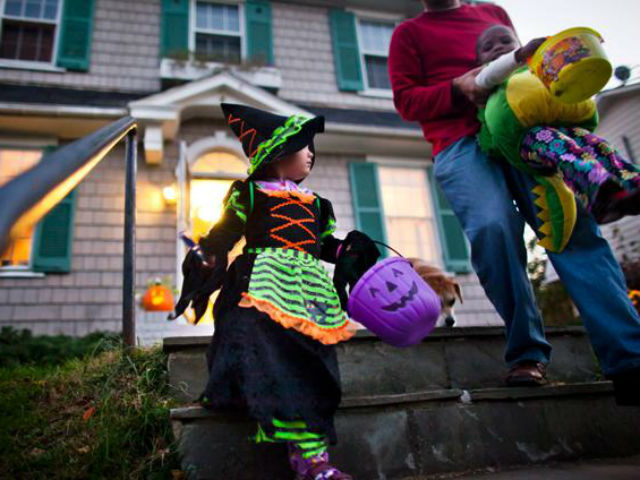 Image result for stay alert trick or treating
