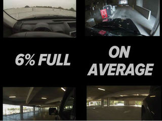 $6.35 million garage sits mostly empty