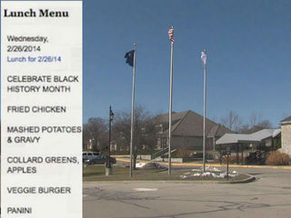 School apologizes for 'soul food' menu
