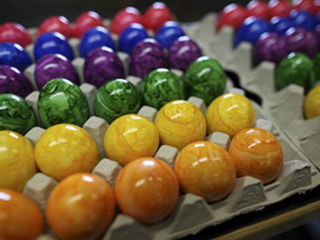 Woman finds body while hunting for Easter eggs