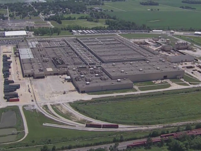 Explosion Reported At Marion Gm Plant