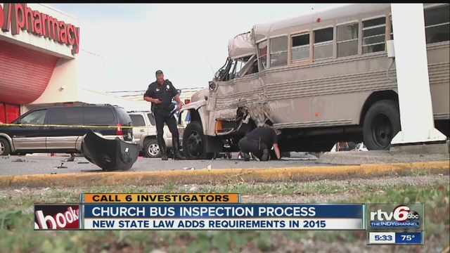 New state law adds requirements to church bus inspections ...