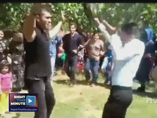 VIDEO: Man shot during wedding dance by accident