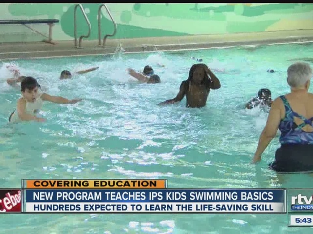 how to learn basic swimming