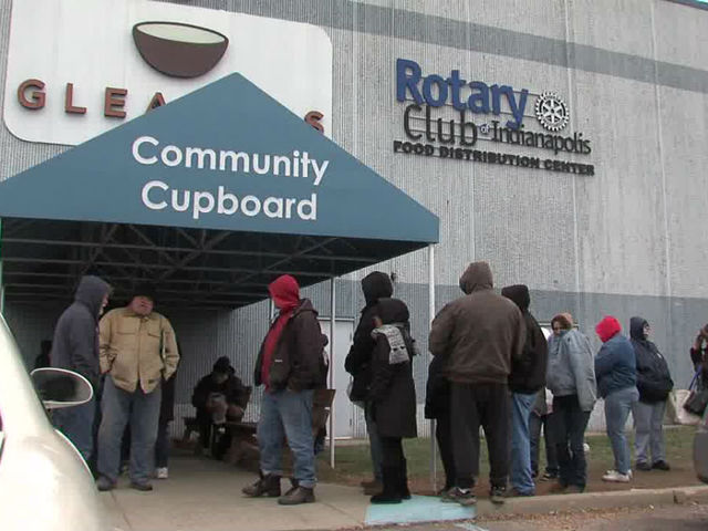 IMPD Gleaners partnering again to help feed hungry