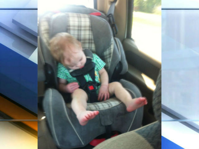 Mom shares car seat concern after son's ; 11-month old Cameron ...