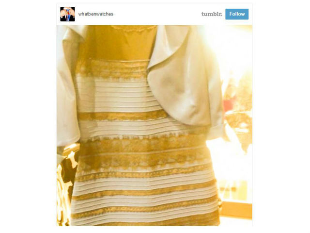 buzzfeed what colors are this dress