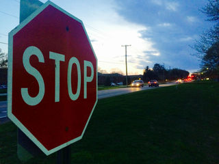 Man fights for better stop sign enforcement