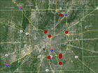 MAP: Police list most dangerous intersections