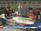 WATCH: 1963 Indy 500 winner's family visits HOF