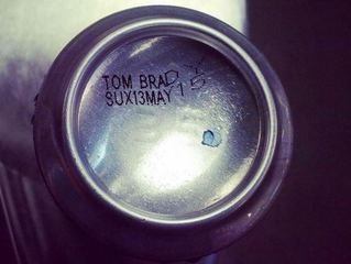 Brewery prints 'Tom Brady Sux' onto cans