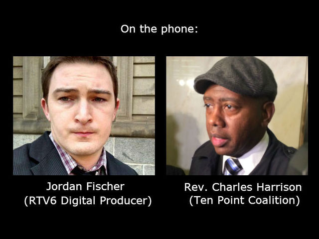 Jordan Fischer interview with Rev. Charles Harrison on violence in Indianapolis