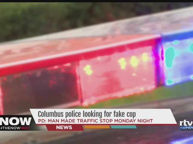 Columbus police warn of I 65 impersonator Indianapolis IN
