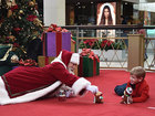 Mall opens early for Santa visits
