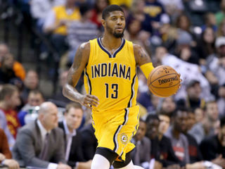 Pacers' George named starter for All-Star Game