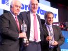 Montoya, Penske receive 'Baby Borg' trophies