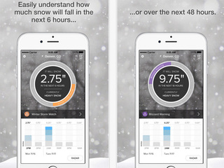 SnowCast app predicts how much snow will fall