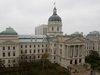 Man shot at Indiana Government Center