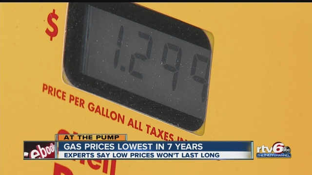 Gas prices drop nationwide over two weeks TheIndyChannel