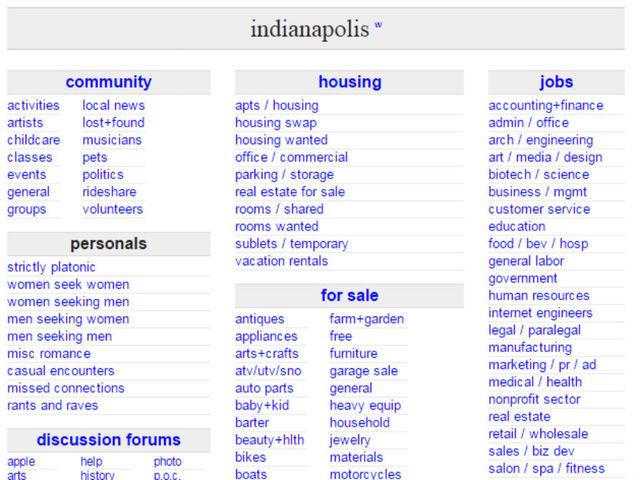 Craigslist Indianapolis Indiana Motorcycle Parts