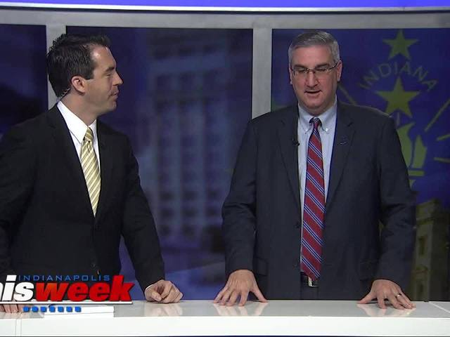 Eric Holcomb interview with Indianapolis This Week