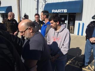 10 arrested in Scott Co. meth bust