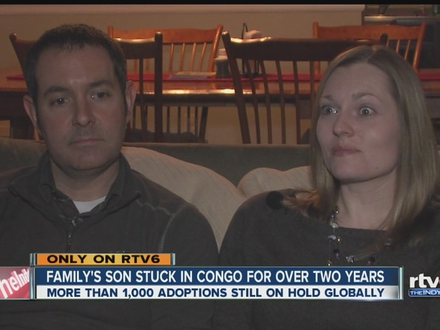 Indiana family's son stuck in the Congo for more than two years