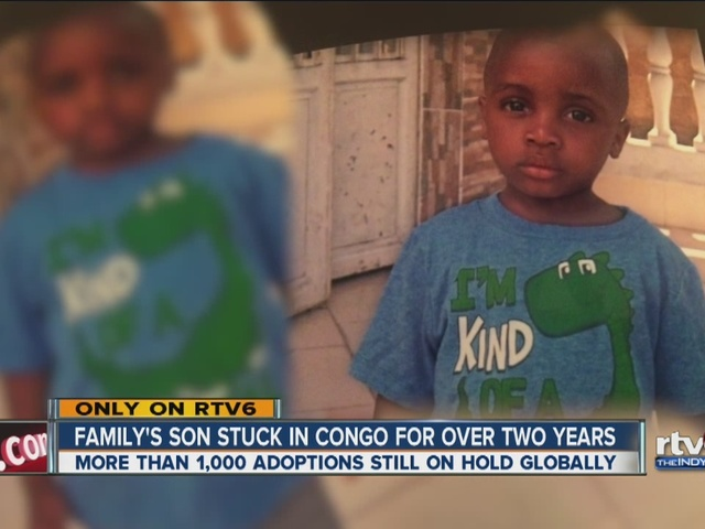 Indiana family waiting for boy they adopted for more than two years