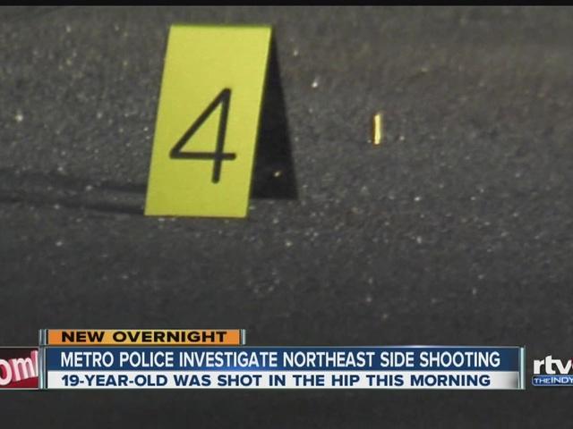 Man shot on northeast side, taken to hospital