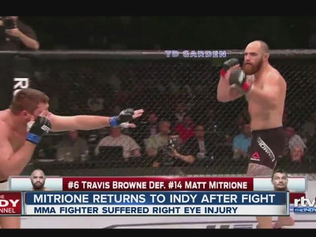 Matt Mitrione returns to Indy after fight