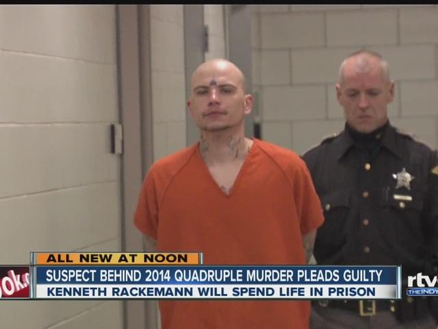 Rackemann pleads guilty in quadruple homicide