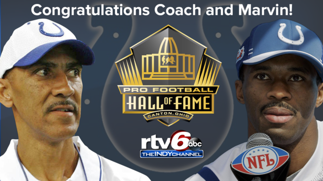 Dungy, Harrison inducted into Hall of Fame