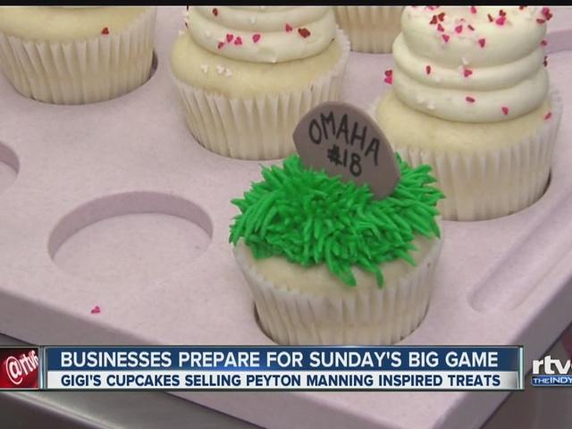 Gigi's Cupcakes prepares for Super Bowl Sunday