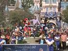 Following tradition: Manning goes to Disneyland