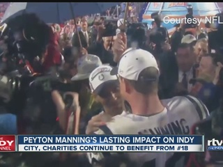 Manning's legacy beyond the football field