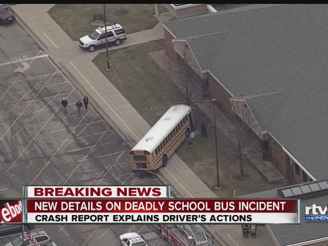 Report says bus driver didn't apply parking brake in Amy Beverland accident