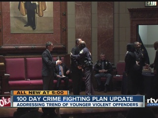 Tackling crime in Hogsett's first 100 days