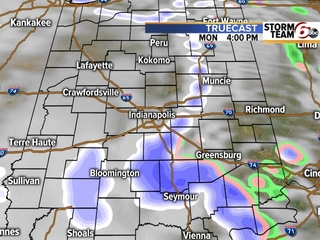 TIMELINE: When are scattered snow showers coming