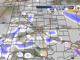 TIMELINE: When scattered snow showers are coming